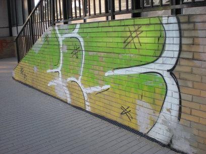 Graffity - odstranění Brno