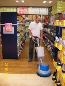 čištění podlah predajna