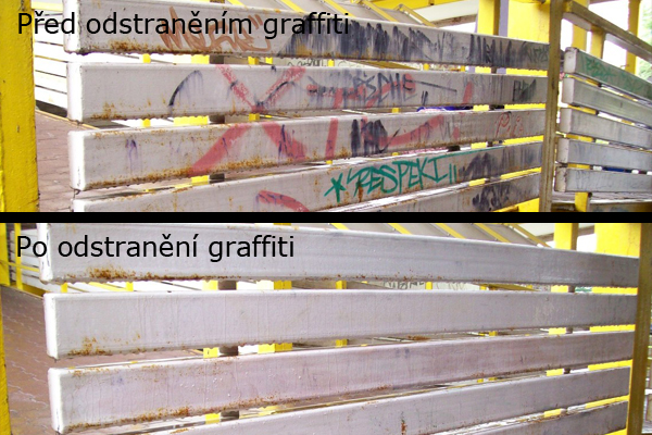 Antigraffiti nátěr, odstranění grafit Praha 3