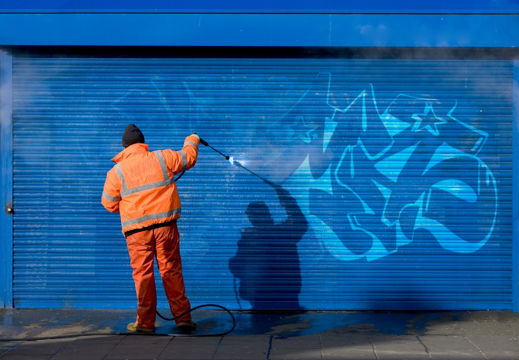 Odstranění graffity Brno