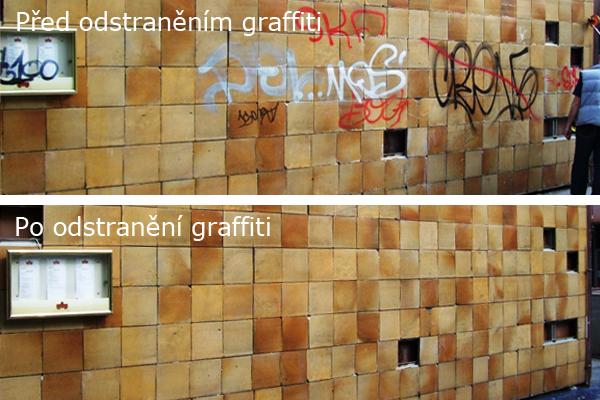 Odstranění graffiti Brno, antigrafitový nátěr