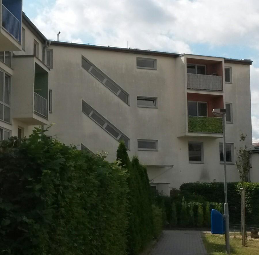 Plísňové napadení fasády Praha 4