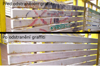 Odstranění graffitů z veřejných prostor Praha