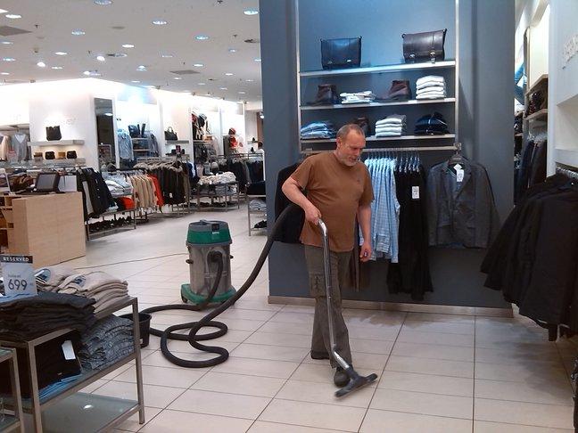 Hloubkové strojové čištění podlah Jablonec nad Nisou