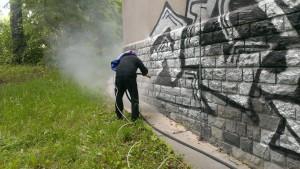 komplexní odstranění graffiti