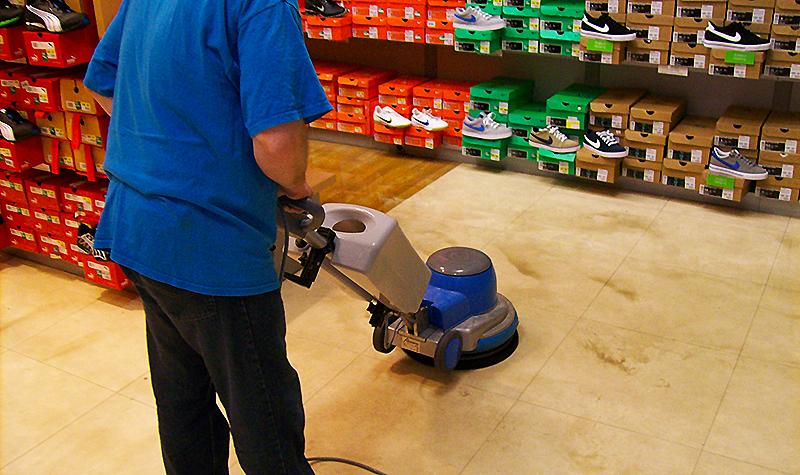 Strojní generální vyčištění podlah Praha